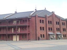 横浜赤レンガの図