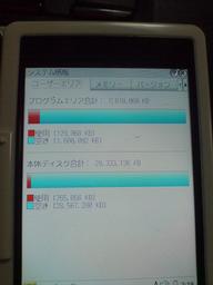 Zaurus SL-C3000 の HDD を32GBに拡張の図
