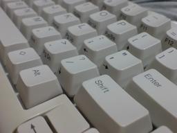 きれいになったキーボードの図(1)