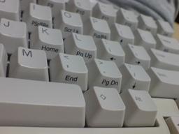 きれいになったキーボードの図(2)