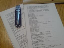 文庫サイズソースノートの図