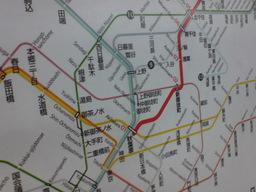 つくば駅路線図の図