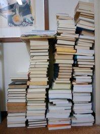 処分する本の図