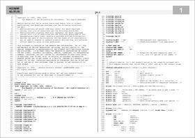 Enscript の出力例(その5)