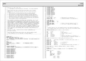 Enscript の出力例(その6)