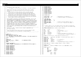 Enscript の出力例(その7)