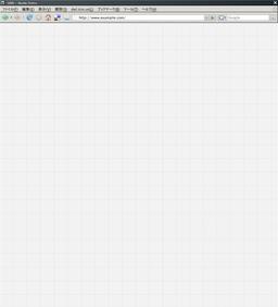 ウェブデザイン用方眼紙(縦長版)
