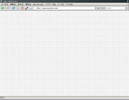 ウェブデザイン用方眼紙 1024 x 768