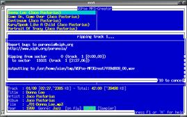 MP3c でWAV ファイルを作るの図
