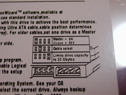 Seagate HDD の仕様
