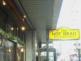 ホフブロウの入口の図